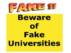 ugc fake universities in india